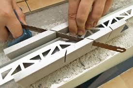 How To Do Tile Backsplash by Installing Tile Edging Howtospecialist How To Build Step By