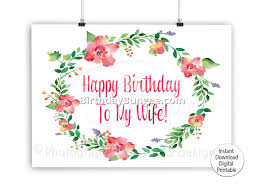 birthday card for wife best birthday resource gallery