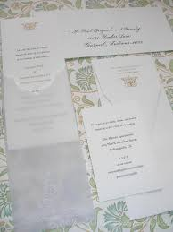 embossed wedding invitations wedding calligraphy by farr vera wang embossed wedding