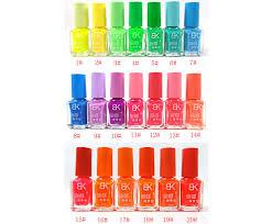 bk glow in the dark nail polish 20 shades youtube