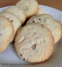 seashell shaped cookies pecan sandies my sweet zepol