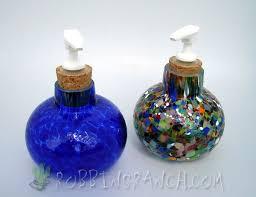 unique soap dispenser lotion soap dispensers robbins ranch art glass