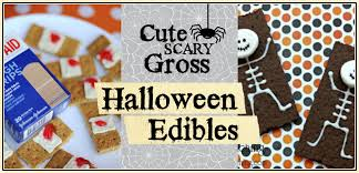 cute scary and gross halloween edibles design dazzle
