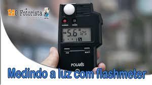 polaris incident light meter dica 69 usando flashmeter youtube