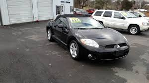 2008 mitsubishi eclipse spyder gs 2dr convertible in johnson city