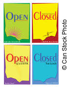 drawings of shop open closed sign retail shop open closed store