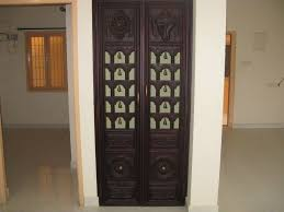 pooja door bells u0026 add minimalistic designs to heavy wooden doors