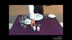 Formal Table Setting Formal Table Setting And Informal Table Setting Youtube