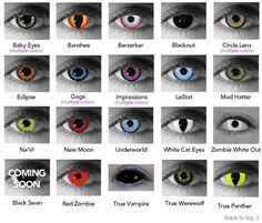 halloween contact lenses eye related tips
