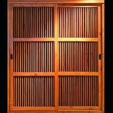 Bamboo Closet Door Curtains Bamboo Closet Doors Peytonmeyer Net