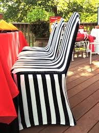 black and white chair covers tablescapes at table twenty one www tabletwentyone