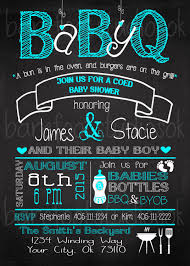 outdoor baby shower barbeque babyq like the poem