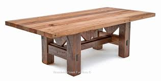 Old Farm Tables Timber Frame Dining Table Salvaged Barn Wood Rustic Old