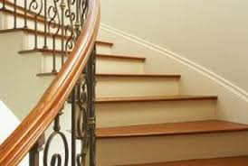 Banister On Stairs How To Polyurethane Stair Railings Home Guides Sf Gate