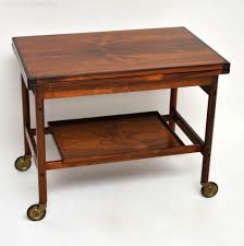 antiques atlas danish rosewood drinks trolley by kurt ostervig