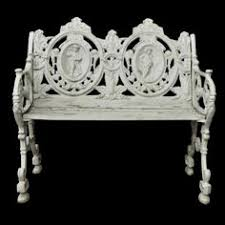 cast iron swan park bench garden furniture swans and bench