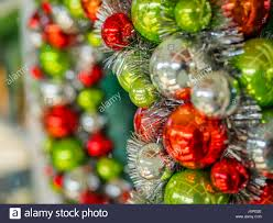 christmas decoration hawaiian merry christmas stock photos
