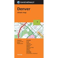 Map Denver Colorado by Denver Street Map