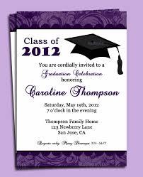 invitation letter for graduation cards wedding favor free