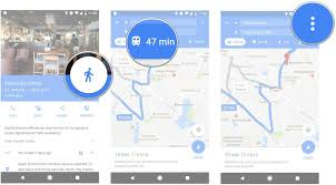 Google Maps Api Blank Map by How To Get Driving Directions On Your Lock Screen From Google Maps