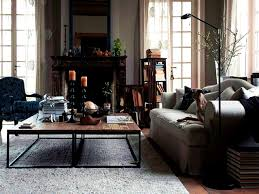 Rustic Chic Living Room by Apartments Inspiring Industrial Chic Living Room Interior Design