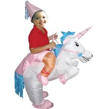 Halloween Unicorn Halloween Inflatable Child Costume Kids Party Dinosaur