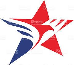 Eagle American Flag Star Eagle American Flag Vektor Illustration 637172966 Istock