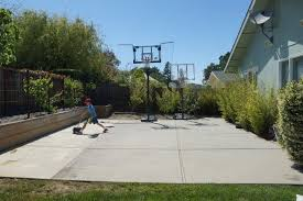 how to build a backyard basketball court tami savage pulse