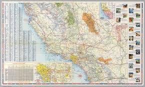 map of california south half road map of california david rumsey historical map