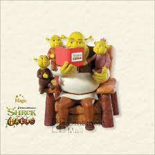 2008 shrek the halls a family magic hallmark
