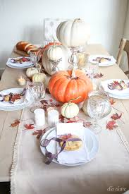 thanksgiving tablescape ella