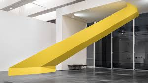 What Color Does Yellow Represent by Where Yellow Means Go And Go Now Lacma U0027s Standout Show On U002760s