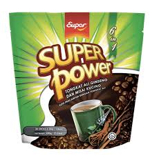 Kopi Tongkat Ali Ginseng Coffee power