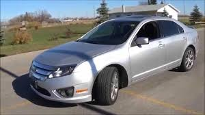 2011 Ford Fusion Interior 2011 Ford Fusion Sel V6 Awd Review Start Up And Walkaround Youtube