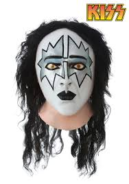 kiss spaceman full mask latex kiss halloween masks