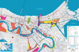 Map Of New Orleans Louisiana Port Of New Orleans Map Of Properties