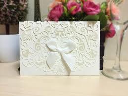 How To Make Invitation Cards Latest White Wedding Cards Design Cloveranddot Com