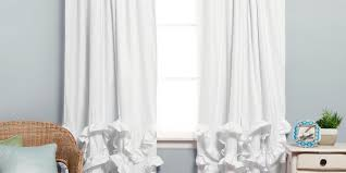 Cheap Nursery Curtains Curtain Ruffled Drapes Blackout Curtains Nursery Ruffle