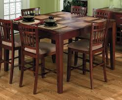 tall chairs for kitchen table tall kitchen table with 8 chairs kitchen tables design kitchen
