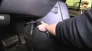 installation of a trailer brake controller on a 2005 gmc sierra