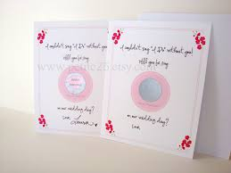 Bridesmaid Invitation Cards Scratch Off Card Reveal Role Will You Be My Bridesmaid Maid