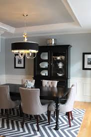 best 25 black dining room furniture ideas on pinterest dinning pale blue dining room walls and ceiling with white wainscoting black accents