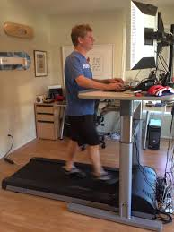Treadmill Desk Weight Loss My Life With A Treadmill Desk E Mail And Browsing At 2 Mph Cnet