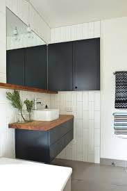Black And White Bathrooms Ideas by Best 25 Black Bathroom Furniture Ideas Only On Pinterest White
