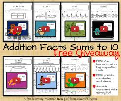 addition addition facts worksheets generator free math