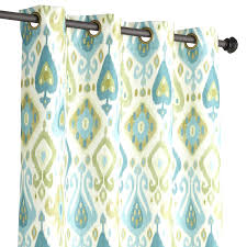 Green And Blue Curtains Blue Green Curtains Teawing Co