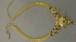 necklace designs images Gold fancy necklace designs 916 jewellery haram necklaces jpg