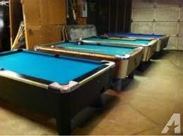 used valley pool table coin operated pool table classifieds buy sell coin operated pool