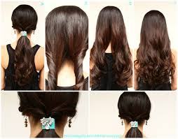 Cute Fast Easy Hairstyles For Long Hair by Easy Hairstyles For Long Straight Hair To Do Yourself Best