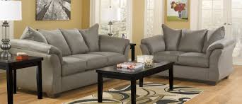 Ashley Furniture Leather Sofa And Loveseat Black Sofas Loveseats